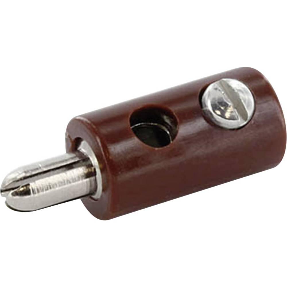 Laboratoriestik Stik, lige econ connect HOSBR 2.6 mm Brun 1 stk