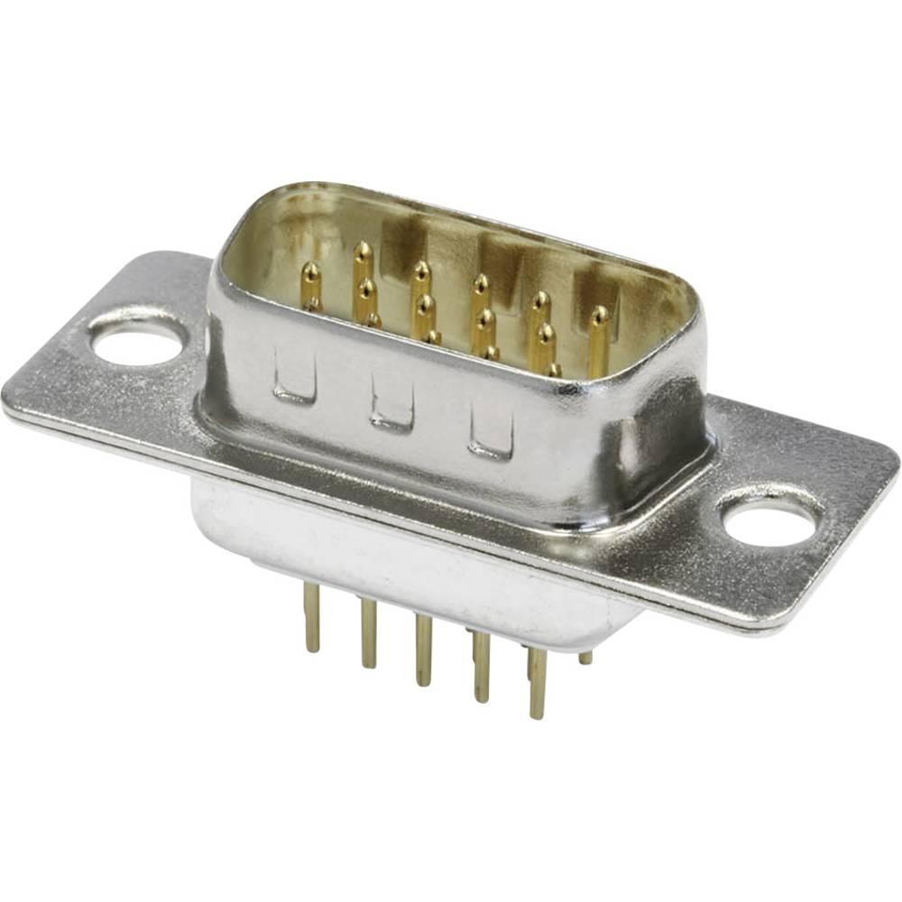 D-SUB pinska letev 180 ° število polov: 15 s spajkalnimi pini econ connect ST15HDP 1 kos