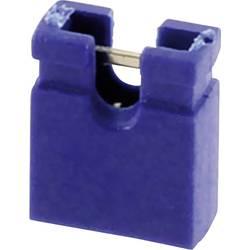 Kortslutningsbro Rastermål: 2.54 mm Poltal hver række:2 econ connect SHBL Indhold: 1 stk
