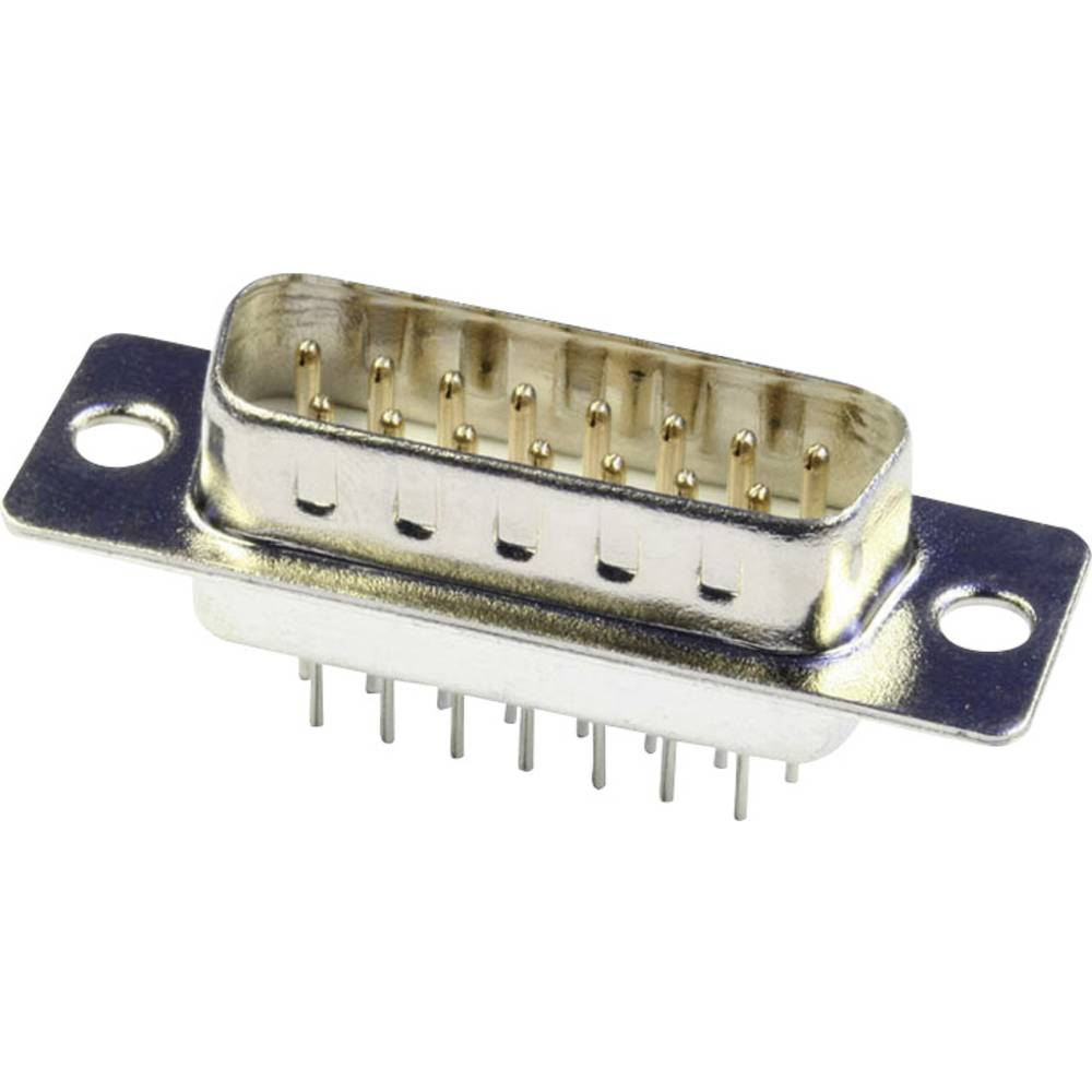 D-SUB pinska letev 180 ° število polov: 9 s spajkalnimi pini econ connect ST9PV 1 kos
