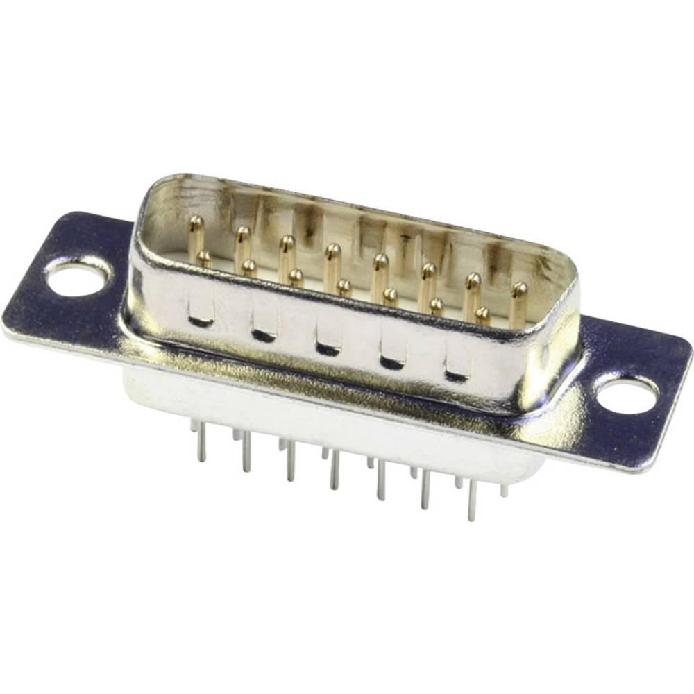 D-SUB pinska letev 180 ° število polov: 25 s spajkalnimi pini econ connect ST25PV 1 kos