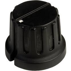 Vrtljivi gumb s kazalcem, črne barve (premer x V) 20.3 mm x 15.6 mm SCI PN-38C (6.4mm) 1 kos