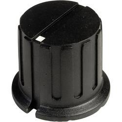 Vrtljivi gumb s kazalcem, črne barve (premer x V) 23.3 mm x 20 mm SCI PN-38B (6.4mm) 1 kos