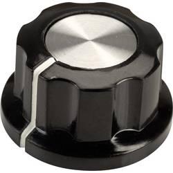 Vrtljivi gumb, črne, bele barve (premer x V) 22.9 mm x 12.7 mm SCI RN-99E(6.4mm) 1 kos