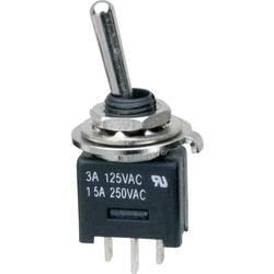 Prevesno stikalo 250 V/AC 3 A 1 x vklop/vklop SCI MTE102A1 zaskočno 1 kos