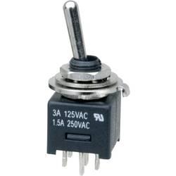 Prevesno stikalo 250 V/AC 3 A 2 x vklop/vklop SCI MTE202A1 zaskočno 1 kos