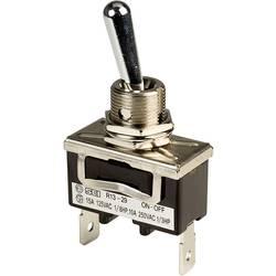 Prevesno stikalo 250 V/AC 10 A 1 x izklop/vklop SCI R13-29A-01A-HWH zaskočno 1 kos