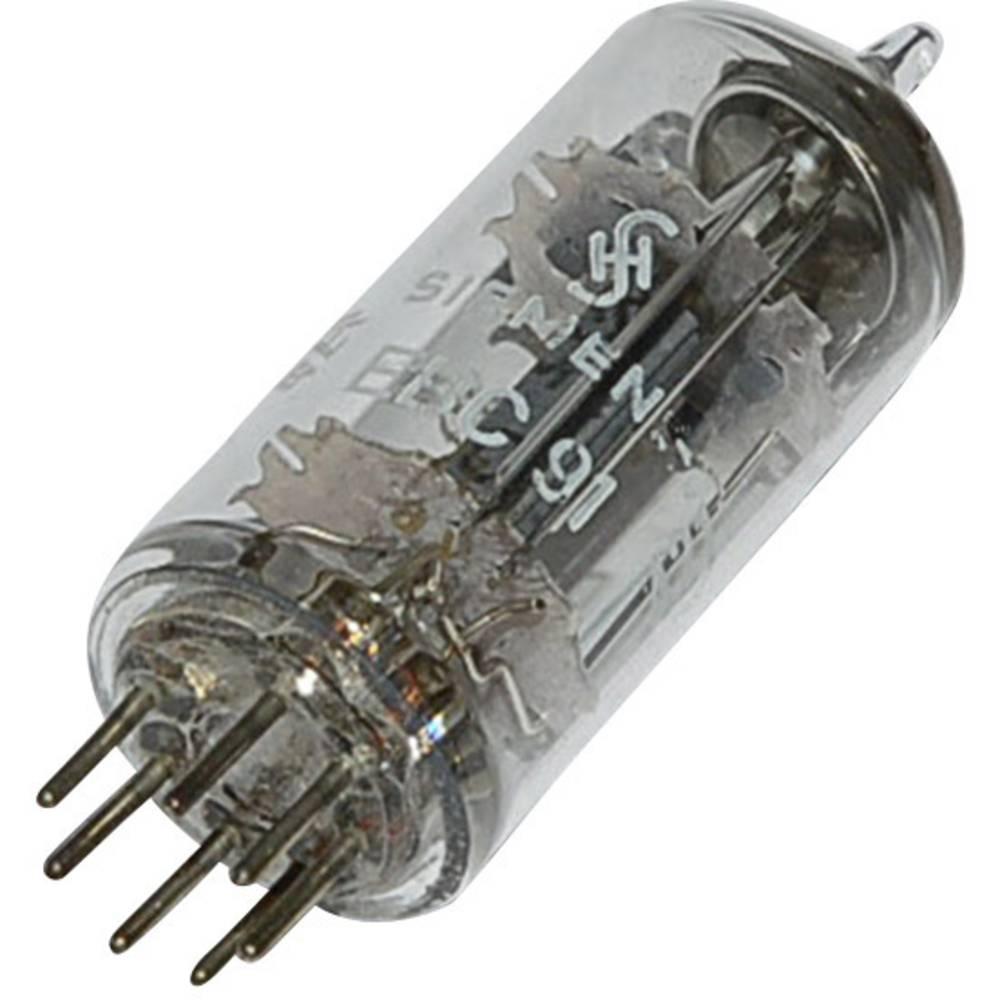 Elektronka EBC 91 = 6 AV 6 dvojna dioda-trioda 250 V 1.2 mA št. polov: 7 podnožje: B7G