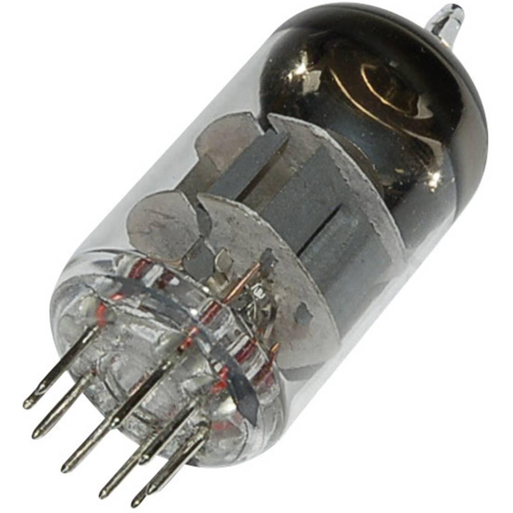 Elektronka ECC 88 = 6 DJ 8 = 6922 dvojna trioda 90 V 15 mA št. polov: 9 podnožje: novalno