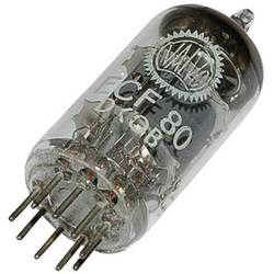 Elektronka ECF 80 = 6 BL 8 trioda-pentoda 100 V, 170 V 14 mA, 10 mA št. polov: 9 podnožje: novalno
