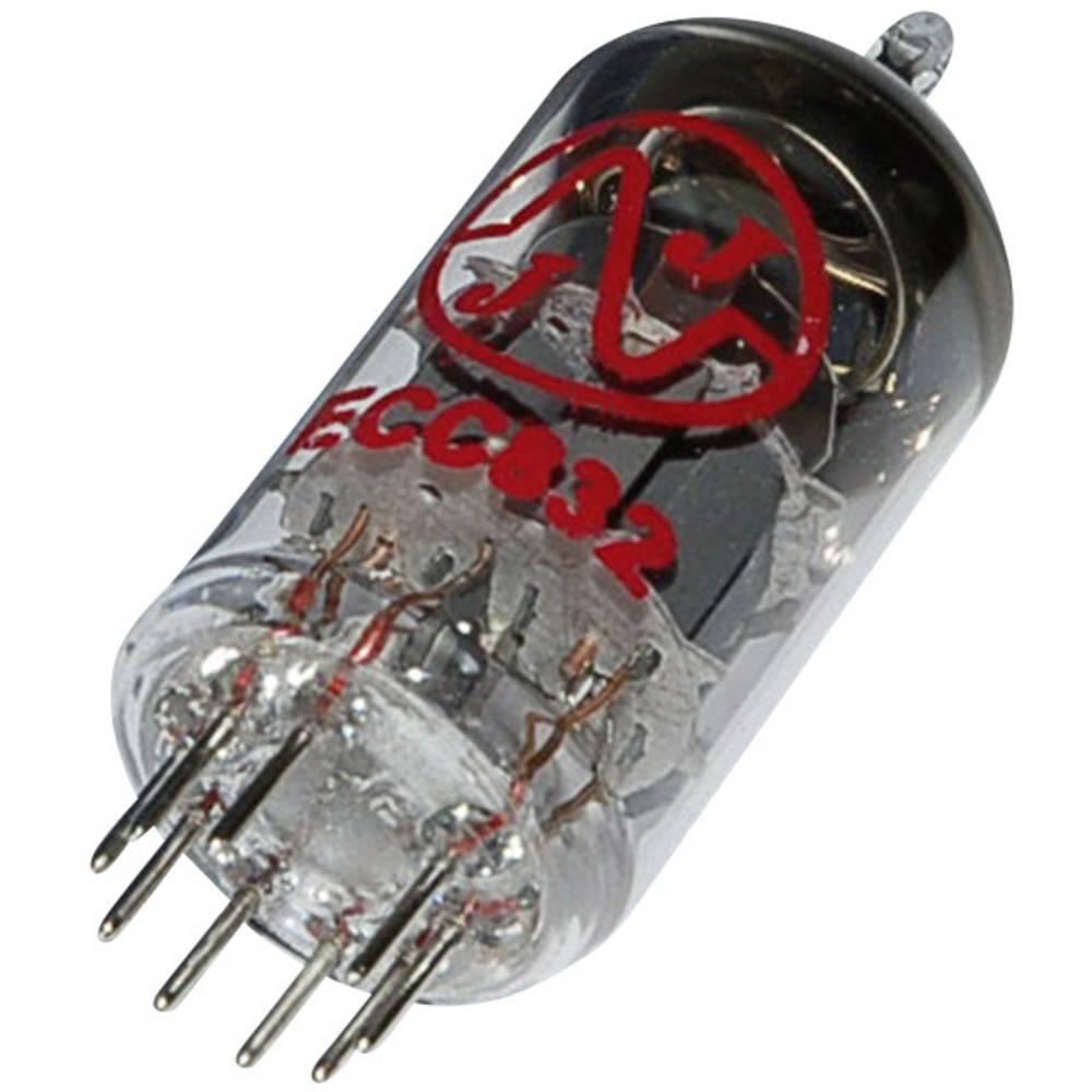Elektronka 12DW7/ECC832 dvojna trioda 100 V 0.5 mA št. polov: 9 podnožje: novalno