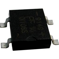 Mostični usmernik PanJit DI108S SDIP-4 800 V 1 A enofazni