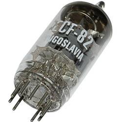 Elektronka ECF 82 = 6 U 8 = 6 KD 8 = 6 EA 8 = 6 F 2 = 6 GH 8 trioda-pentoda 150 V, 170 V 18 mA, 10 mA št. polov: 9 podnožje: nov