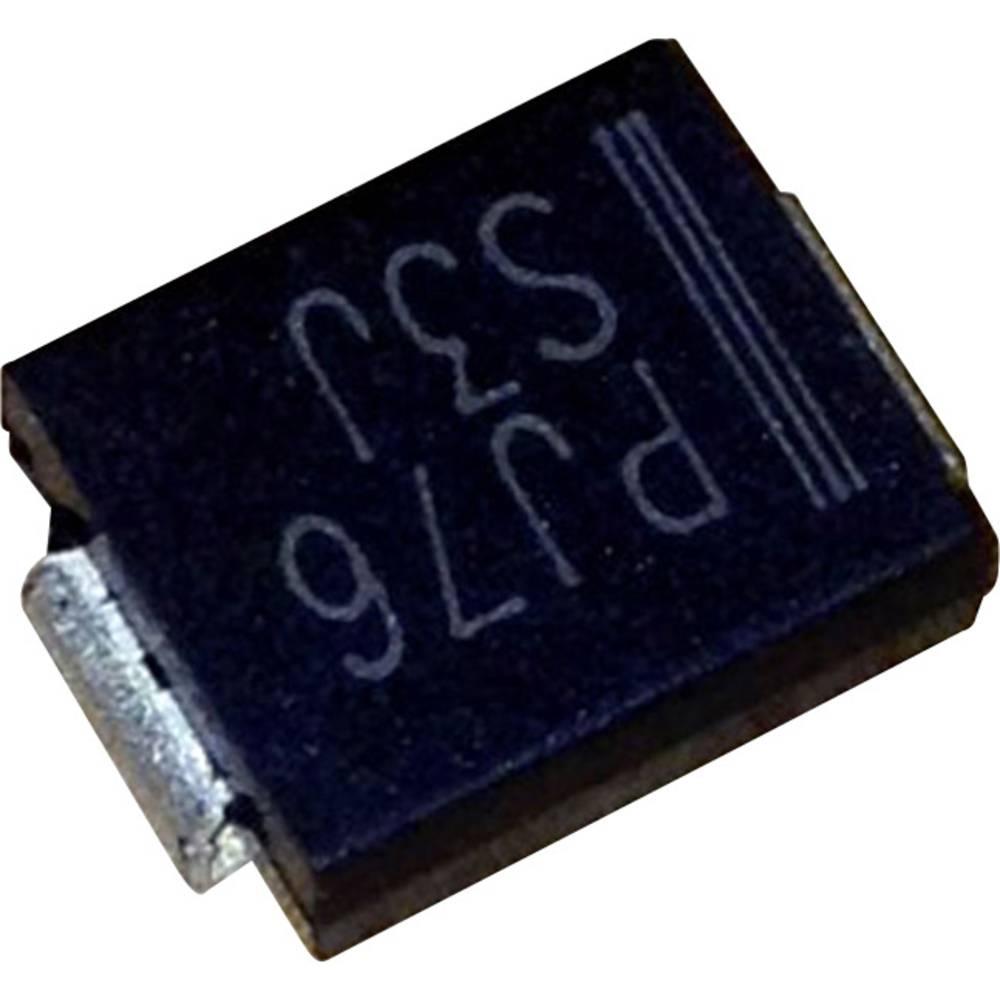 Schottky dioda PanJit MB34 vrsta kućišta: SMC/DO-214AB I(F) 3 A napon (U) 40 V