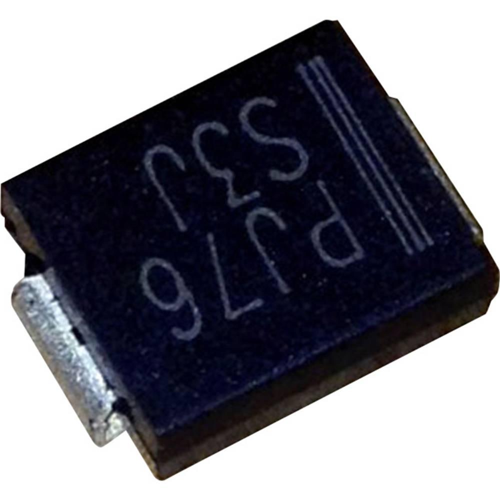 Schottky dioda PanJit SK54 vrsta kućišta: SMC/DO-214AB I(F) 5 A napon (U) 40 V