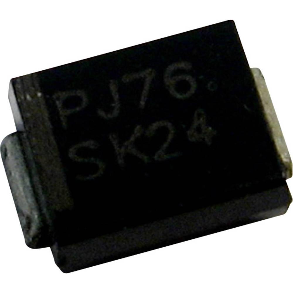 Schottky dioda PanJit S510B vrsta kućišta: SMB/DO-214AA I(F) 5 A napon (U) 100 V