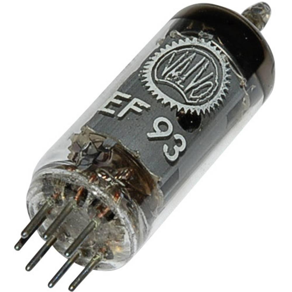Elektronska cijev EF 93 = 6 BA6 polovi: 7 Sockel Miniatur opis: RF pentoda