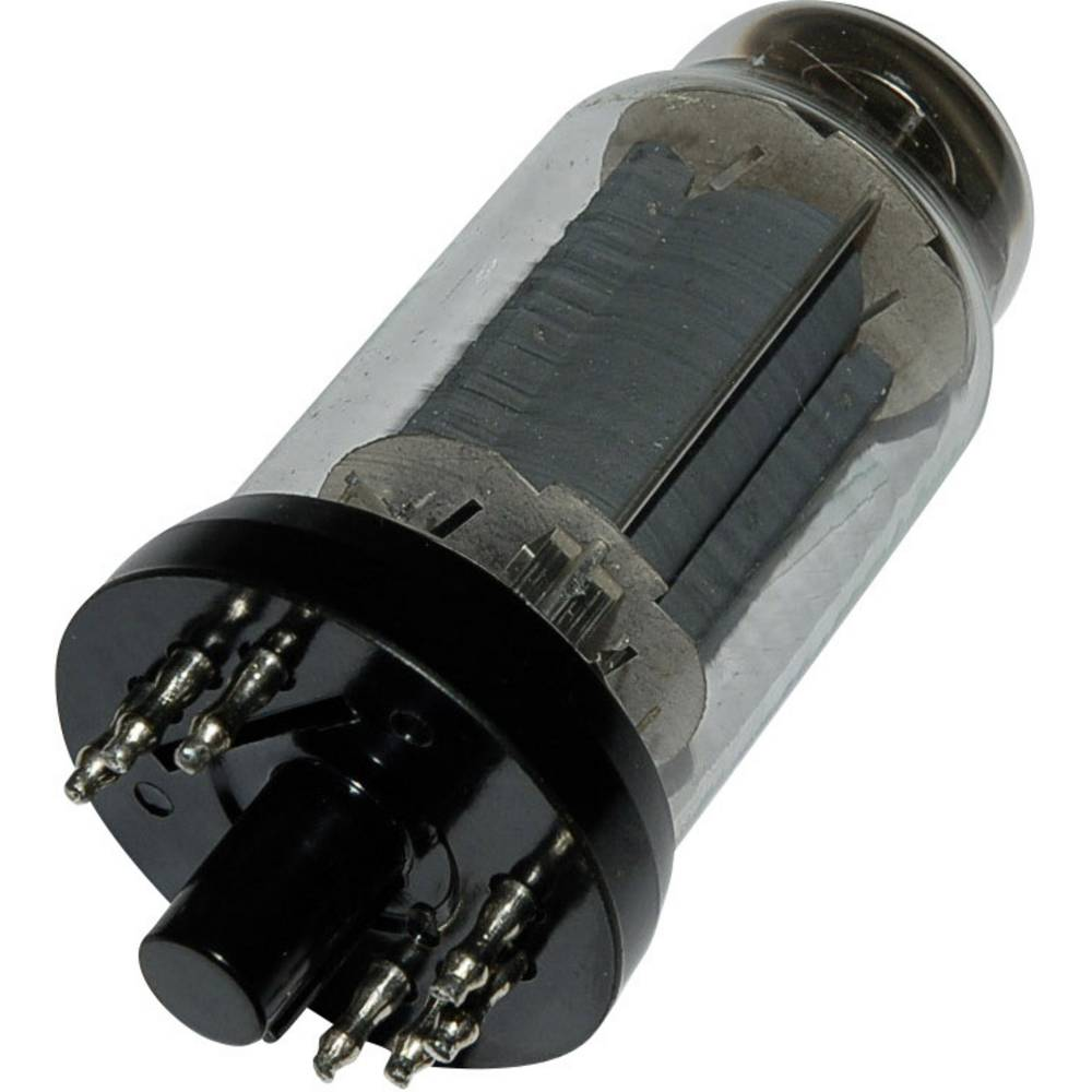 Elektronska cijev EL 12 N polovi: 8 Sockel 8pin Stahlrhren-Sockel, opis: Leistungspentoda