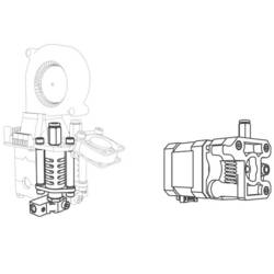 3D printer udvidelser og reservedele Velleman Vertex Druckkopf K8402 Velleman Vertex
