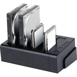 Priključna postaja za trdi disk SATA Renkforce, 4 vrata USB 3.0/eSATA