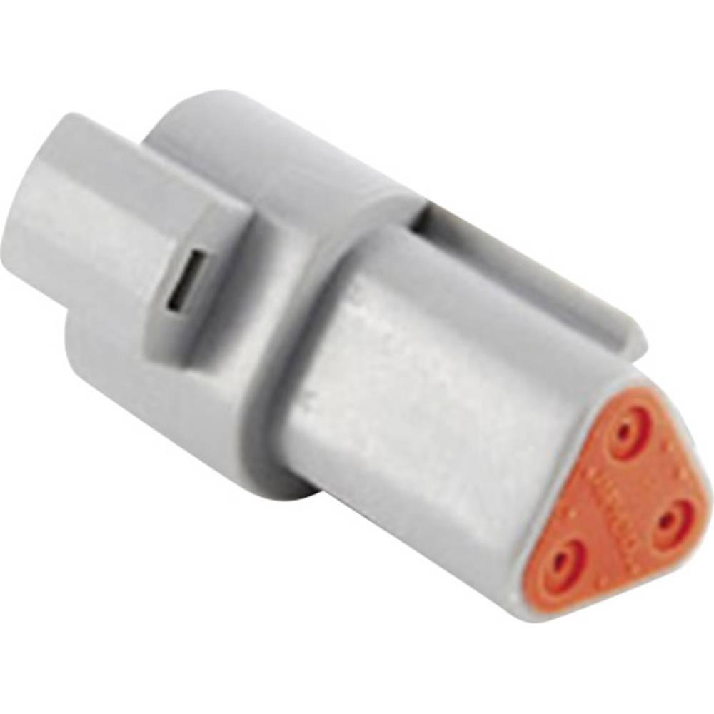 Ohišje za vtične kontakte, poli: 3 13 A AT04 3P Amphenol 1 kos