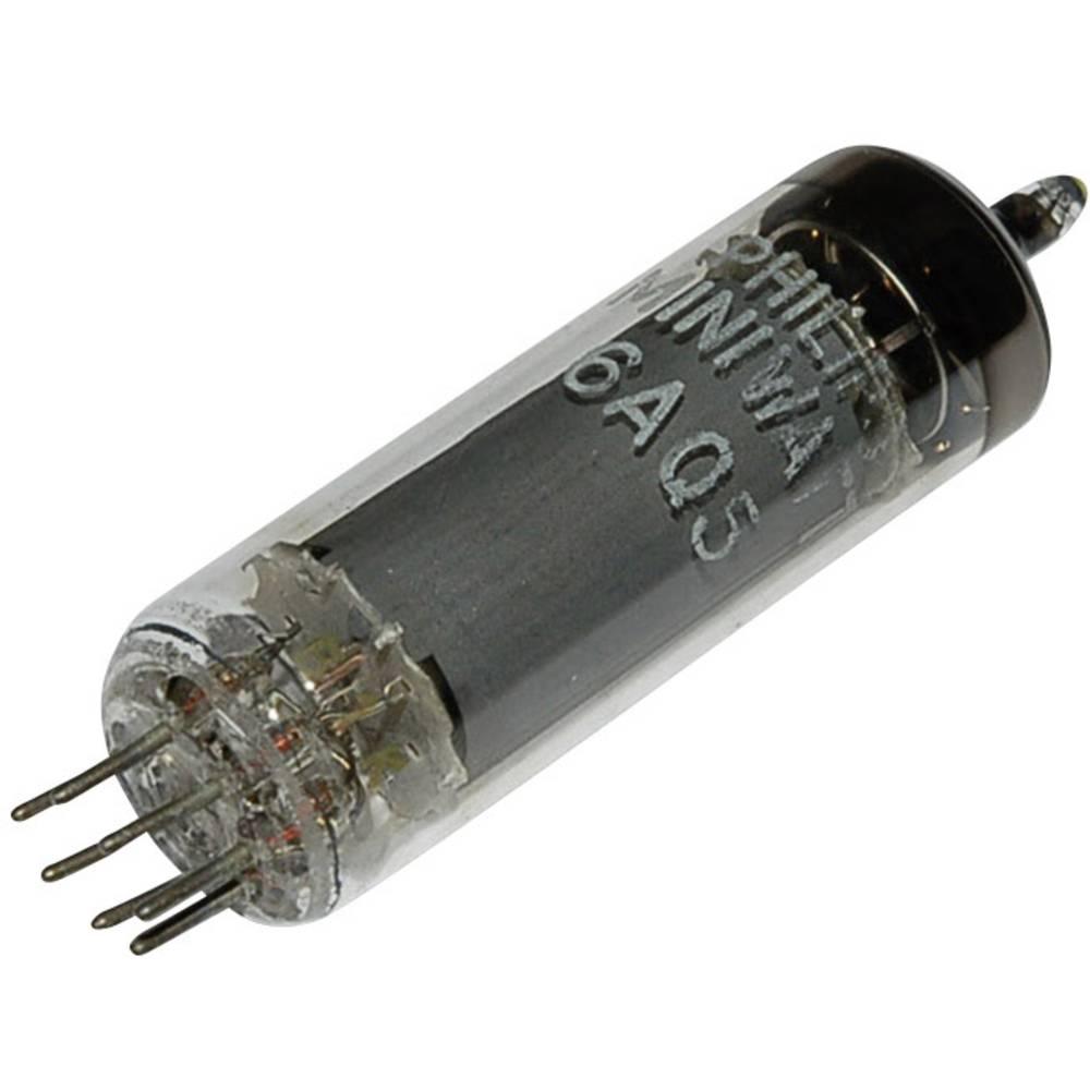 Cijevna elektronka EL 90 = 6 AQ 5 krajnja pentoda 250 V 45 mA broj polova: 7 podnožje: B7G