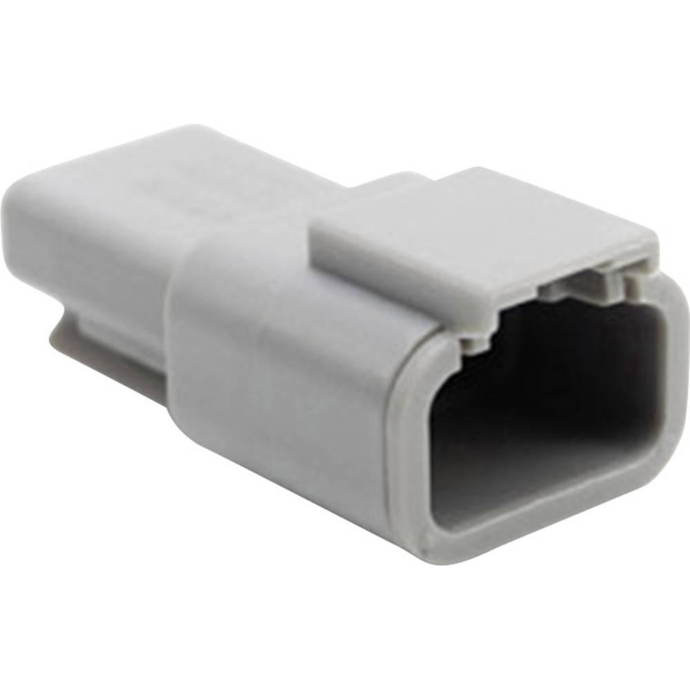 Ohišje za vtične kontakte, poli: 3 7.5 A ATM04 3P Amphenol 1 kos