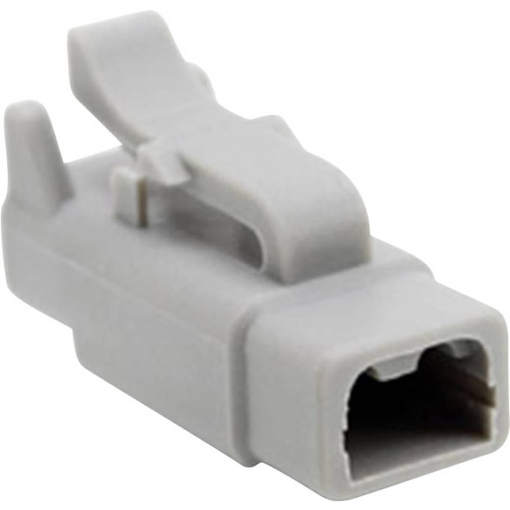 Ohišje za vtične kontakte, poli: 2 7.5 A ATM06 2S Amphenol 1 kos