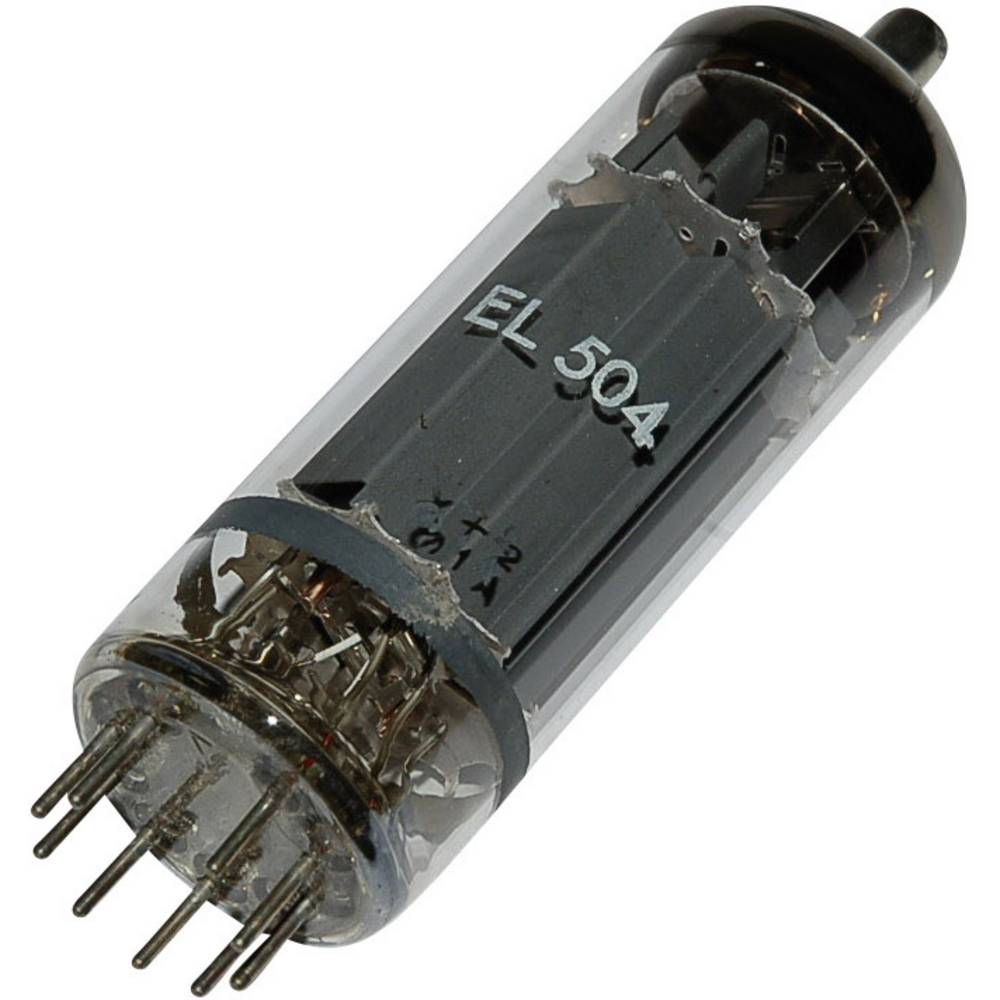 Elektronka EL 504 = 6 GB 5 A končna pentoda 75 V 440 mA št. polov: 9 podnožje: magnovalno
