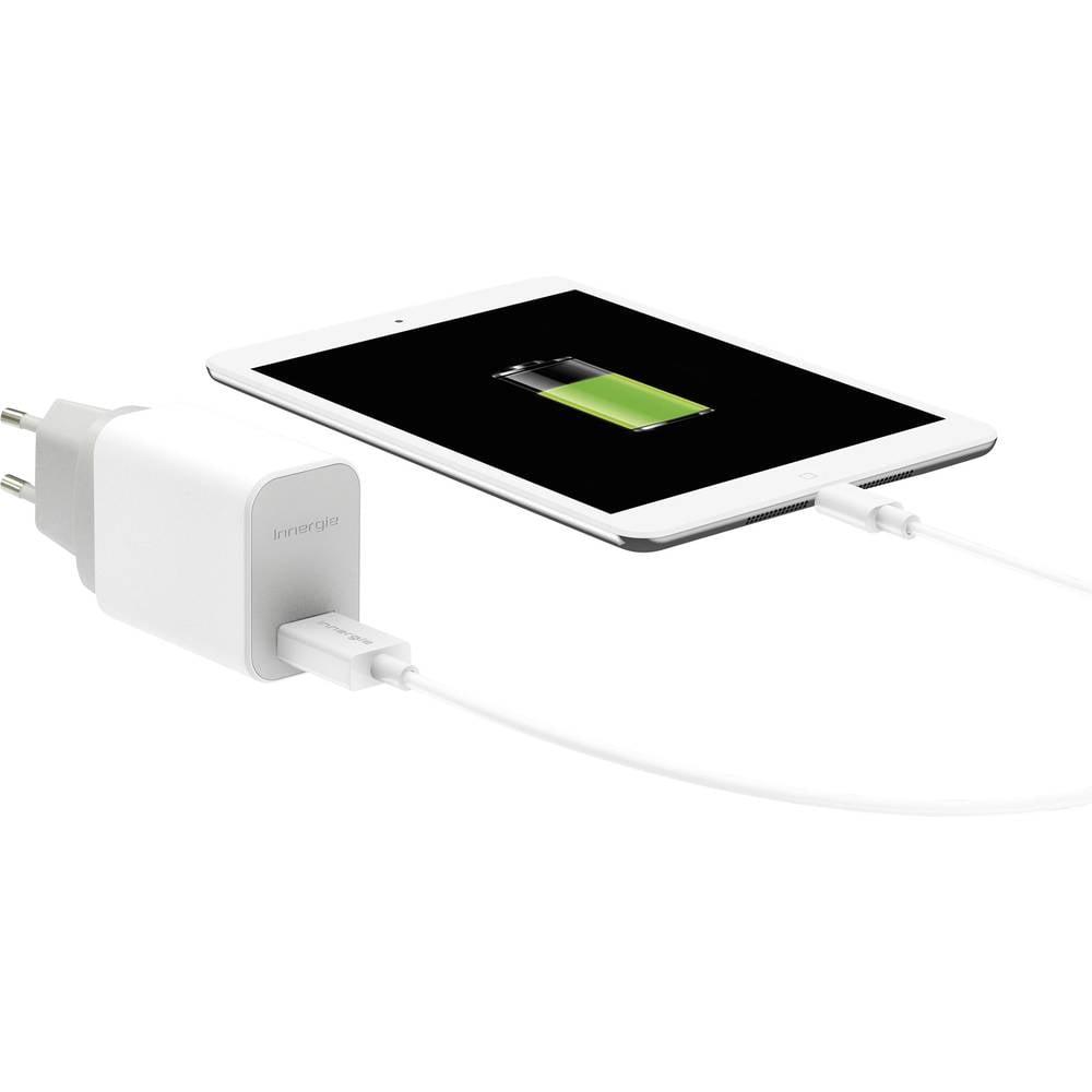 USB napajalnik z vtičnico Innergie ADP-10JW RA izhodni tok (maks.) 2100 mA 1 x USB z avtomatsko zaznavo