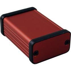 Profilno kućište, aluminij, crvena boja 60 x 45 x 25 Hammond Electronics 1455D601RD 1 kom.