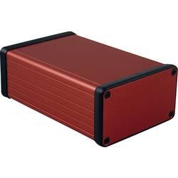 Profilno kućište, aluminij, crvena boja 120 x 78 x 43 Hammond Electronics 1455K1201RD 1 kom.