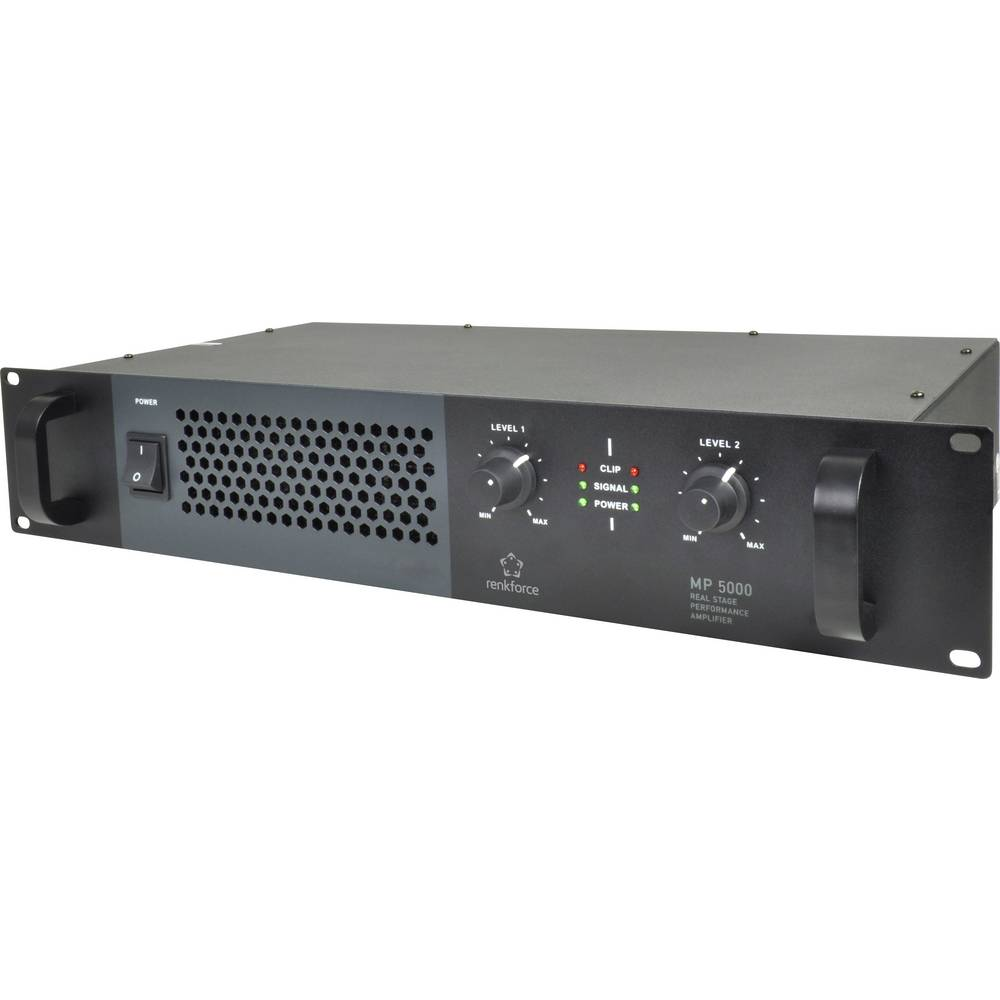 PA pojačalo Renkforce MP-5000 RMS snaga za svaki kanal 4 Ohm: 170 W