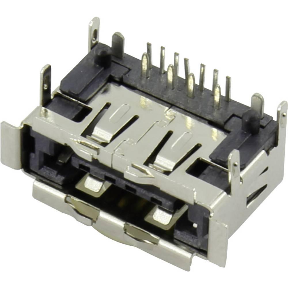 eSATApd Vgradna vtičnica eSATA + USB 2.0 vtičnica, vgradna horizontalna eSATA + USB 2.0 5 V / 12 V Conrad vsebuje: 1 kos