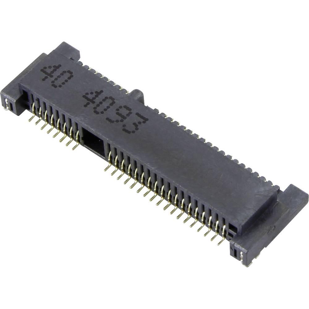 Tilslutningskabinet-printplade MM60 (value.1360530) Samlet antal poler 52 Attend 119A-40A00-R04 Rastermål: 0.80 mm 1 stk