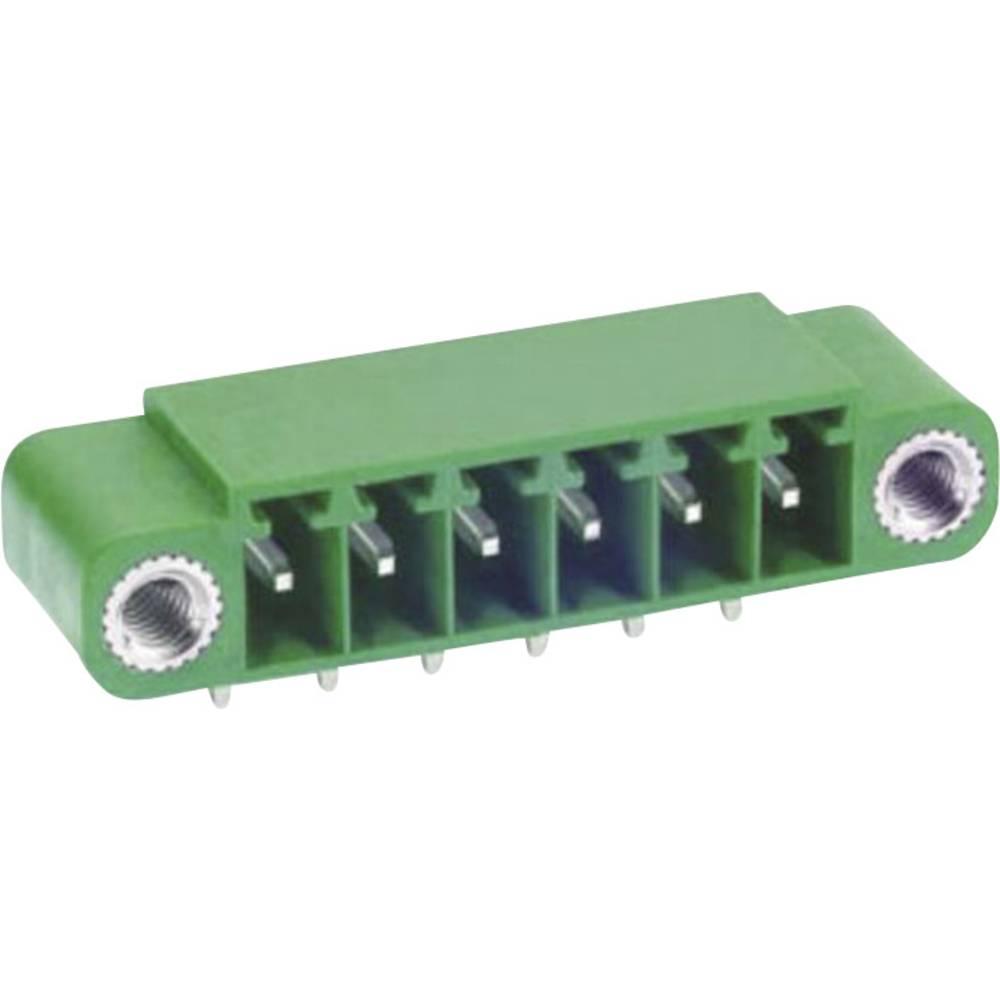 Osnovno pinsko ohišje, horizontalno z vijačno pritrditvijo mere: 3.81 mm število polov: 7 zelene barve DECA ME050-38107 vsebuje: