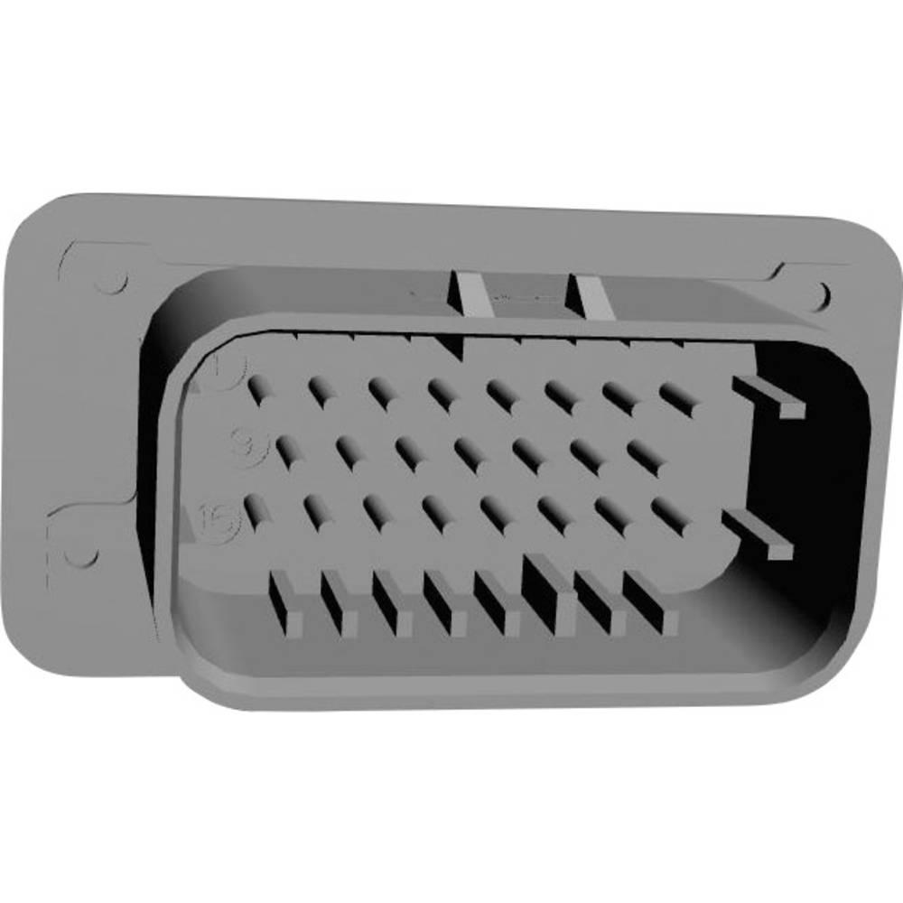 Indbygningsstiftliste (præcision) AMPSEAL (value.1360505) Samlet antal poler 23 TE Connectivity 770669-1 1 stk