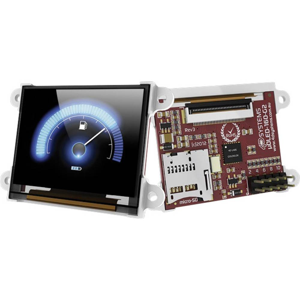 Razvojna plošča 4D Systems uOLED-160-G2