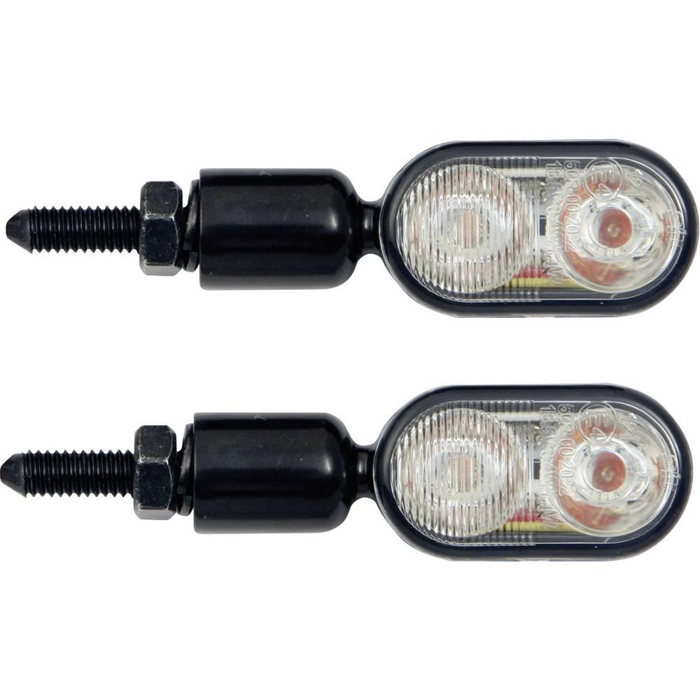 LED-blinklys med baglys Motorcykel Devil Eyes 611001 Aluminium