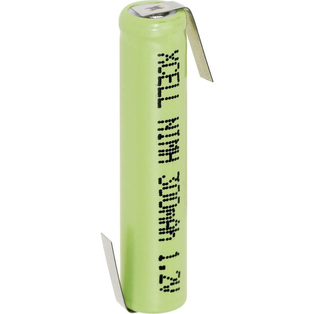 NiMH akumulator XCell AAAA Z-spajkalni priključek 1.2 V 300 mAh (Ø x V) 8.3 mm x 39.3 mm