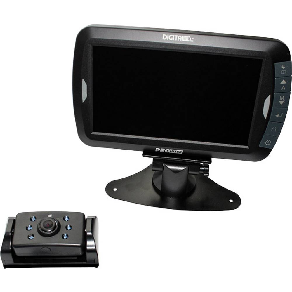 Brezžična vzvratna kamera DRC7010 ProUser samodejno preklapljanje dan/noč samodejno nastavljanje beline, pomagalne linije oddalj