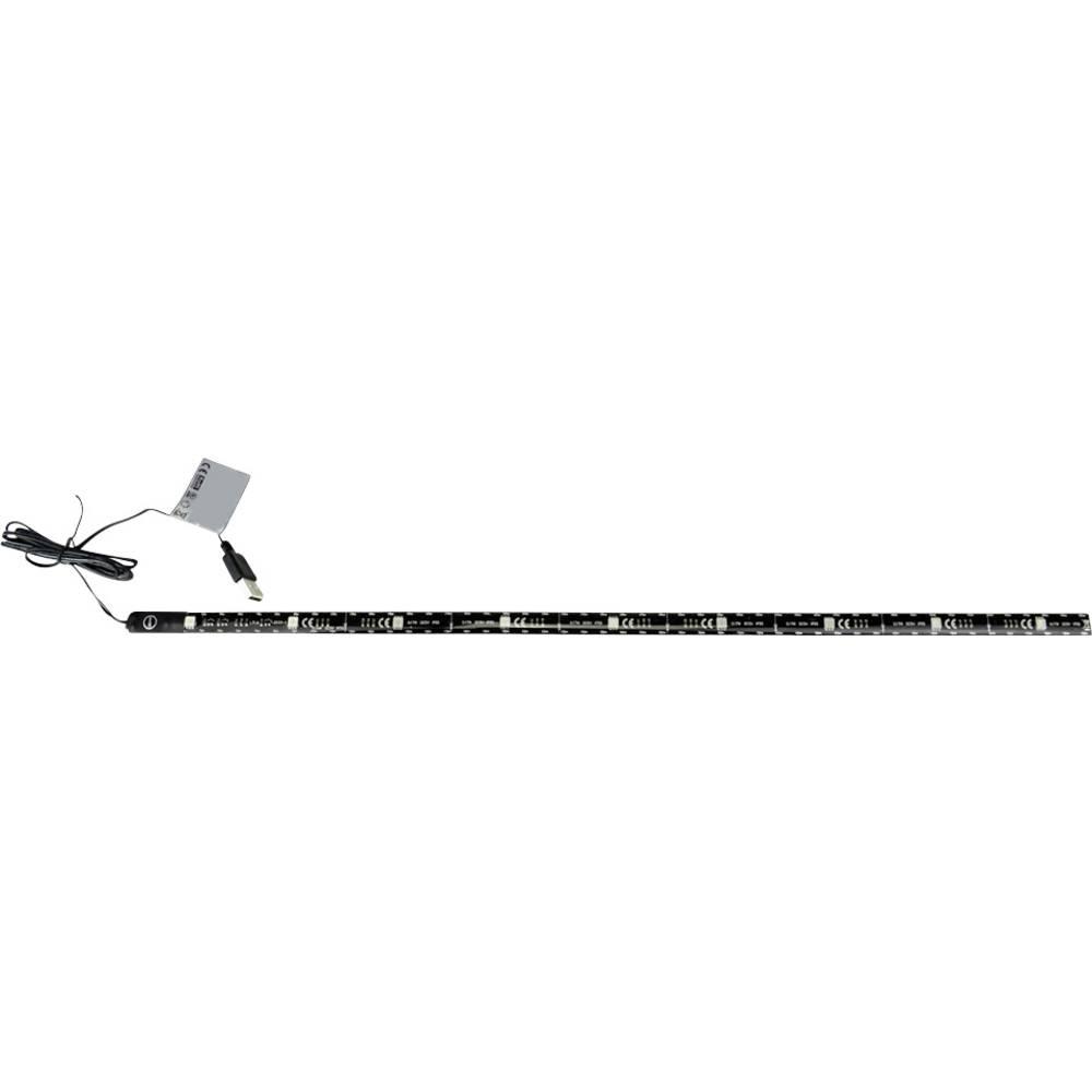 Dekorativno osvjetljenje LED trake s USB priključkom 701407 X4 Life crna