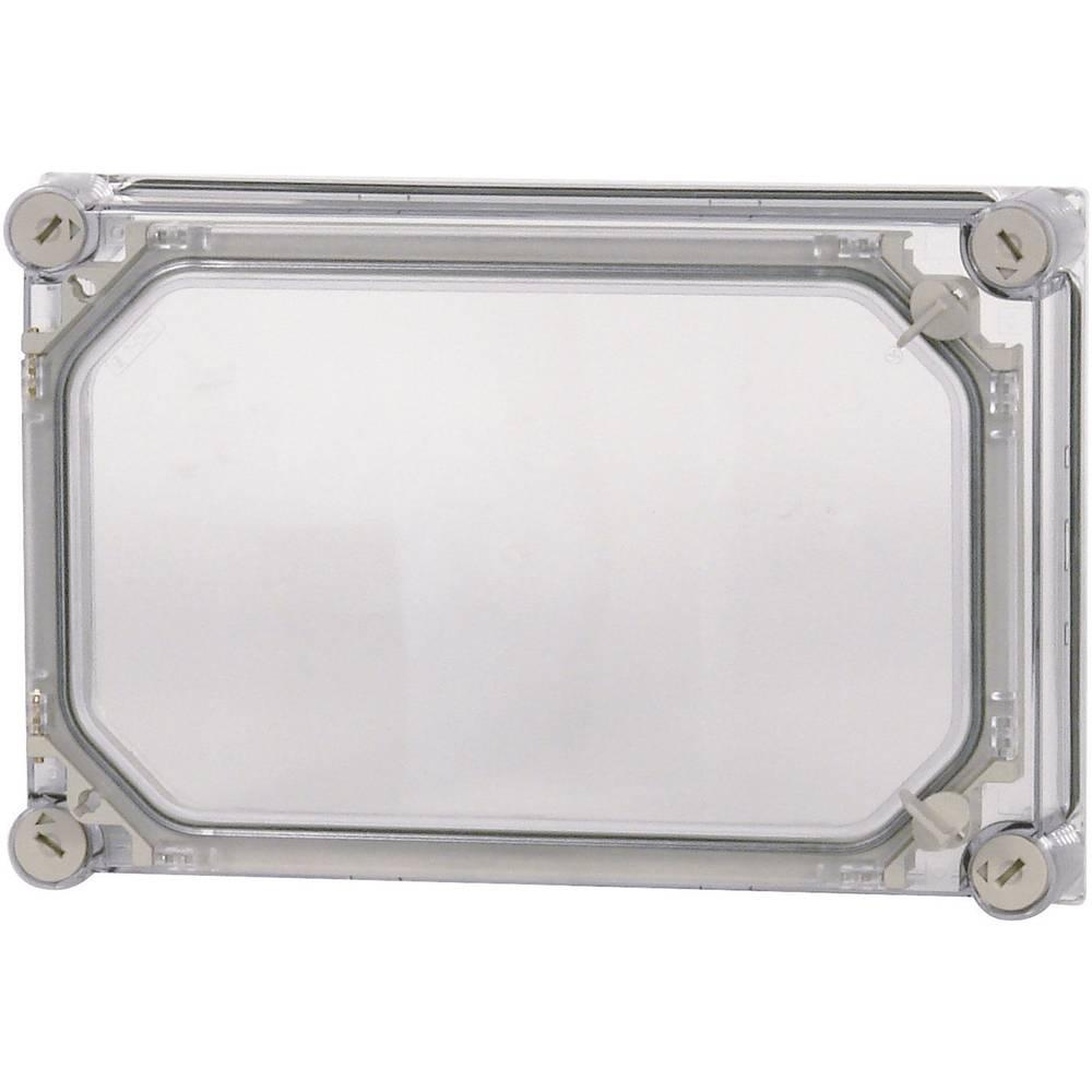 Husdæksel Eaton D150-CI43/T (L x B x H) 50 x 375 x 250 mm Transparent 1 stk