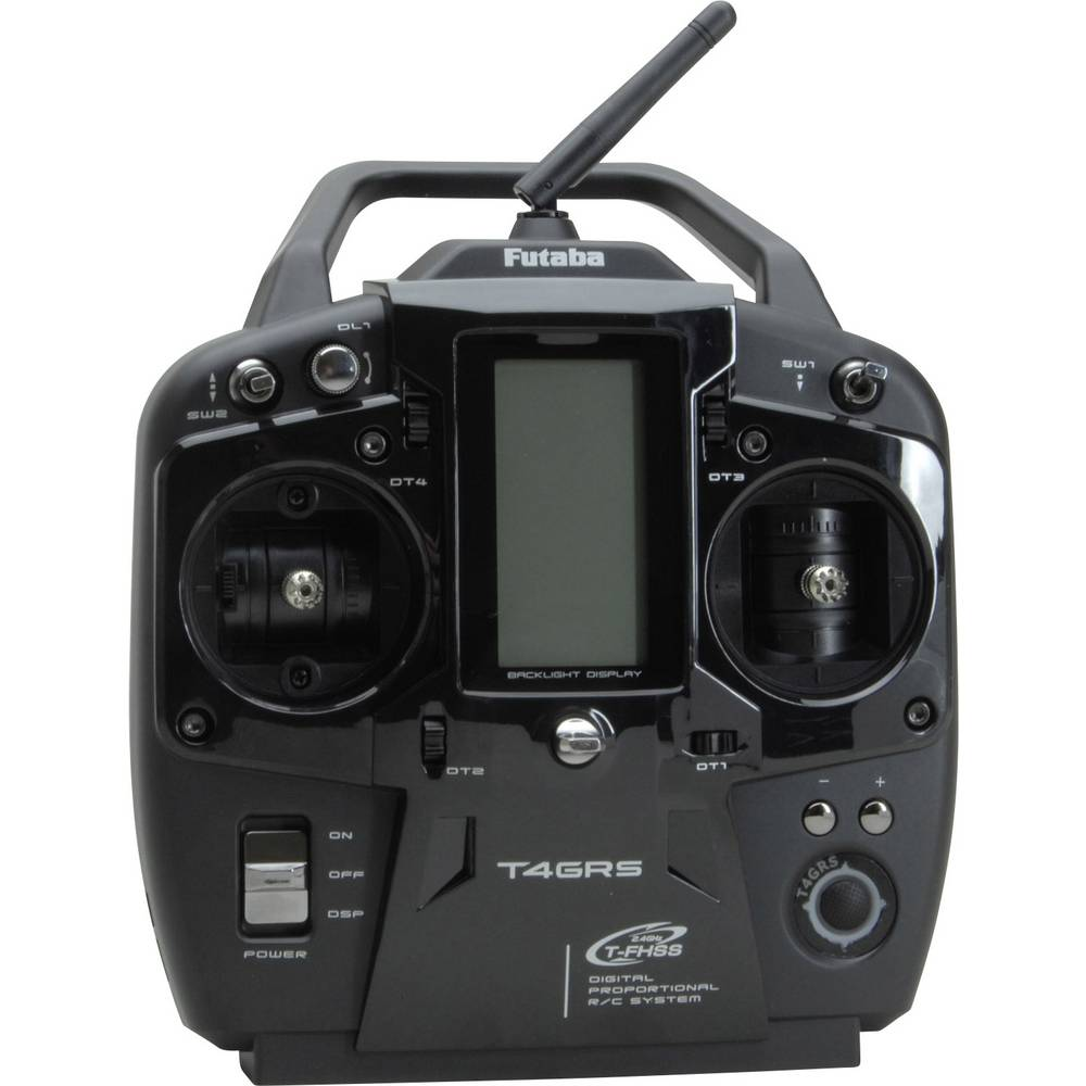 Ručni daljinski upravljač T4GRS-R304SB Futaba T-FHSS 2,4 GHz, broj kanala: 4