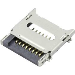 microSD Kort-sokkel Klap Attend 112C-TBAR-R02 1 stk