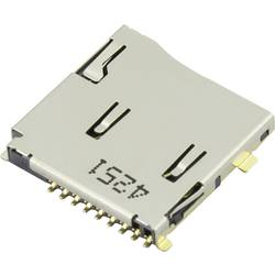 microSD Kort-sokkel Skub , Skub Attend 112J-TDAR-R01 1 stk