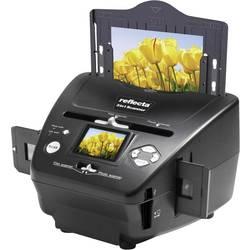 Diaskanner, Fotoskanner, Negativskanner Reflecta 3in1 Scanner 1800 dpi Digitalisering utan PC, Display, Minneskortplats