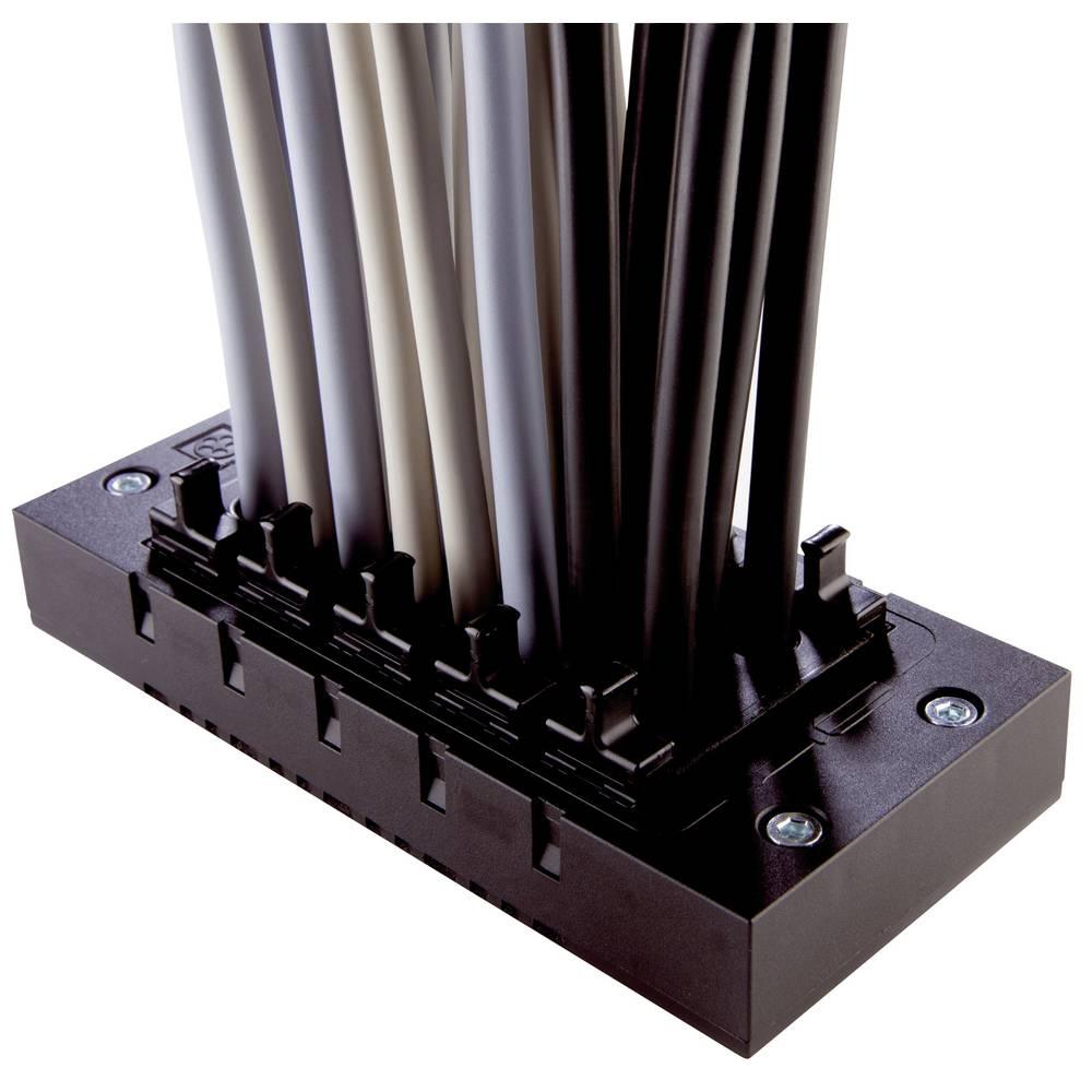Okvir za kabelsko uvodnico, premer sponke (maks.) 16 mm iz polikarbonata črne barve LappKabel SKINTOP CUBE MULTI V1 1 kos