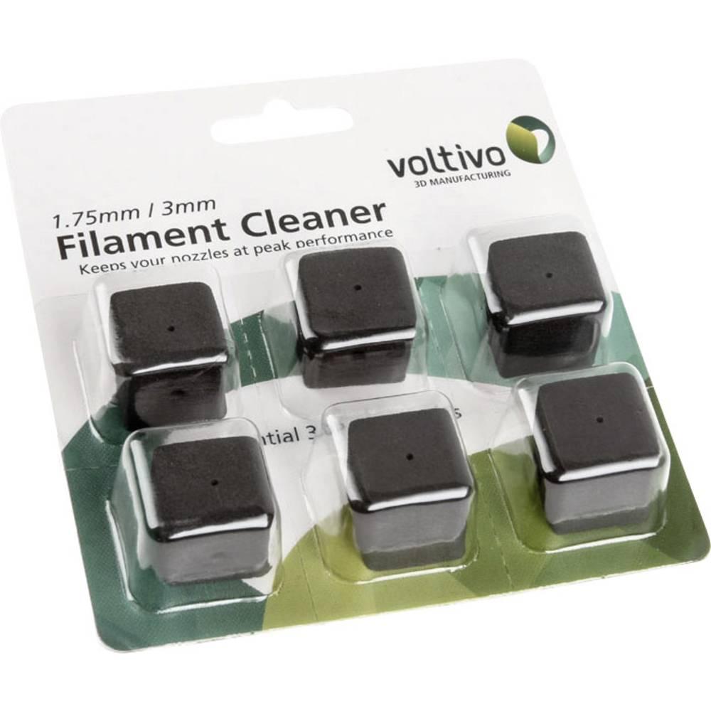 Tillbehör Voltivo Filament Cleaner Passar till 3D-skrivare ABS-aktiverade enheter, HIPS-aktiverade enheter, PLA-aktiverad enhet,