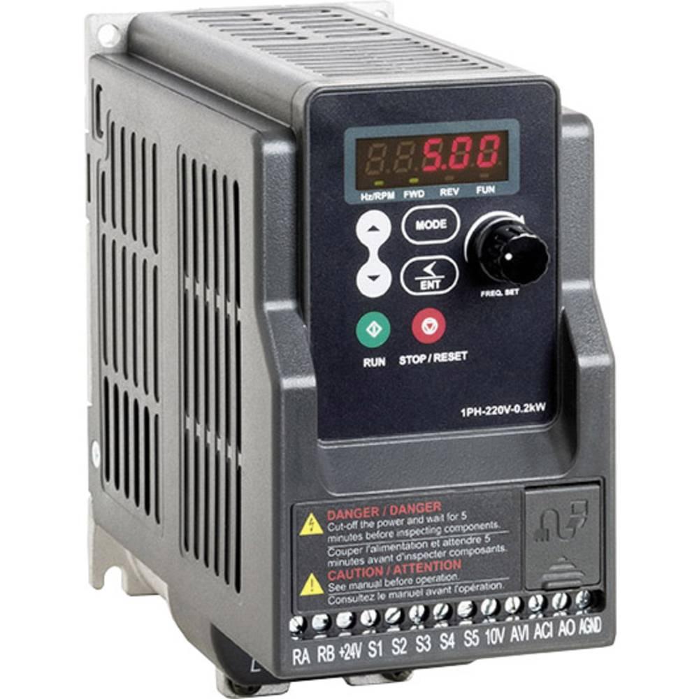 Ispravljač frekvencije FUS 040 L5 2T000.23037 Peter Electronic 1-fazni 200 - 240 V 0.37 kW
